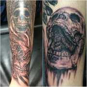twisted skull & screaming