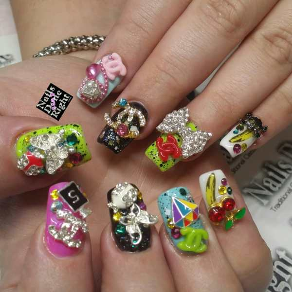 Japanese 3d Nail Art Inspired Girls Harajuku Japan - Yelp