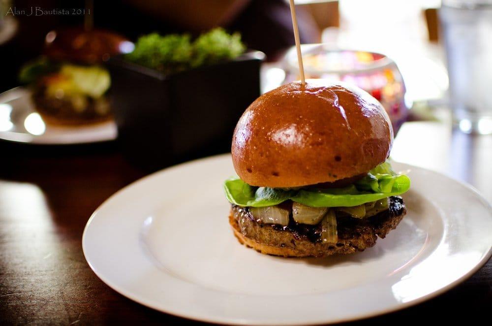The Burger Delicious w/ the Pat La Frieda Steak Blend. - Yelp
