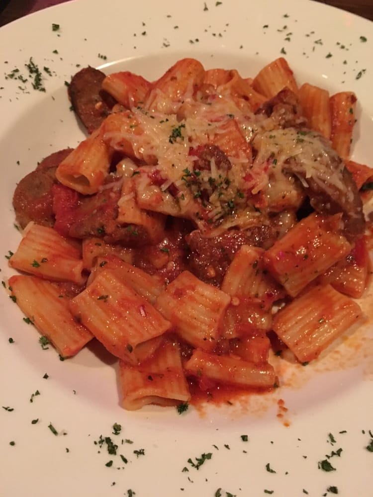 Spicy arrabbiata with sausage  Yelp