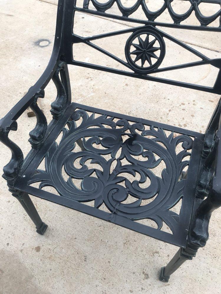 patio chair repair diy adirondack plans aluminum weld yelp photo of mobile welding trailer reno nv united states