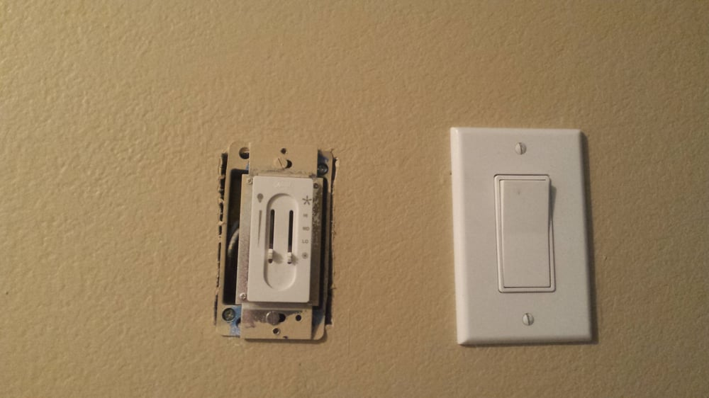 Changing Out Light Switches