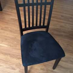 Chair Cover Rentals Alexandria Va Infant High Chairs Four With Dark Wood And Black Micro Fiber Seats Yelp Photo Of Cort Furniture Rental United States