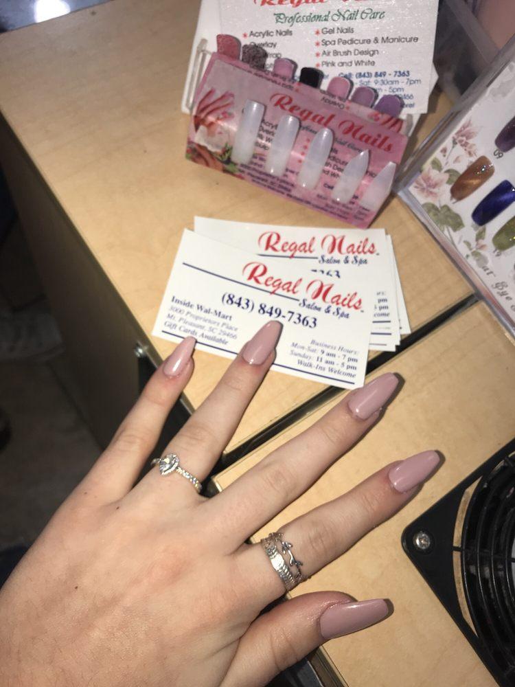 Nail Salons In Walmart : salons, walmart, Regal, Salon, Mount, Pleasant,, Giftly