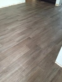 Frenchwood larch porcelain tile from floor and decor - Yelp
