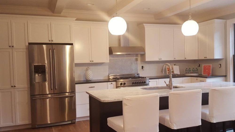 ReAdoor Kitchen Cabinets White Shaker Doors Tampa Yelp