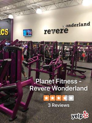Planet Fitness Wonderland : planet, fitness, wonderland, Planet, Fitness, Revere, Wonderland