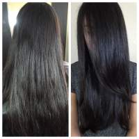 Clear cellophane/hair gloss - Yelp