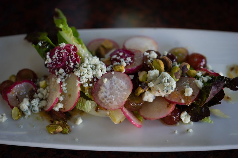baby gems salad with