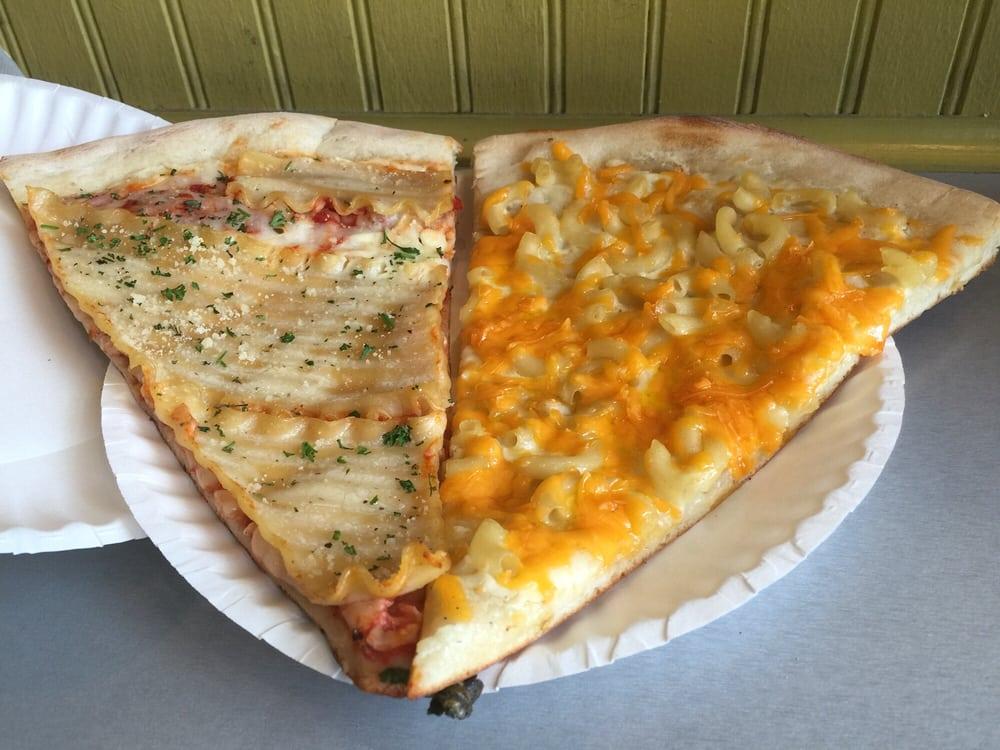 Lasagna and macaroni and cheese pizza  Yelp