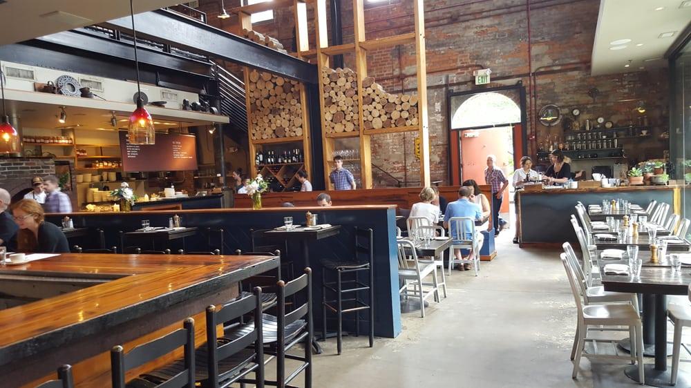 Main indoor dining area  Yelp
