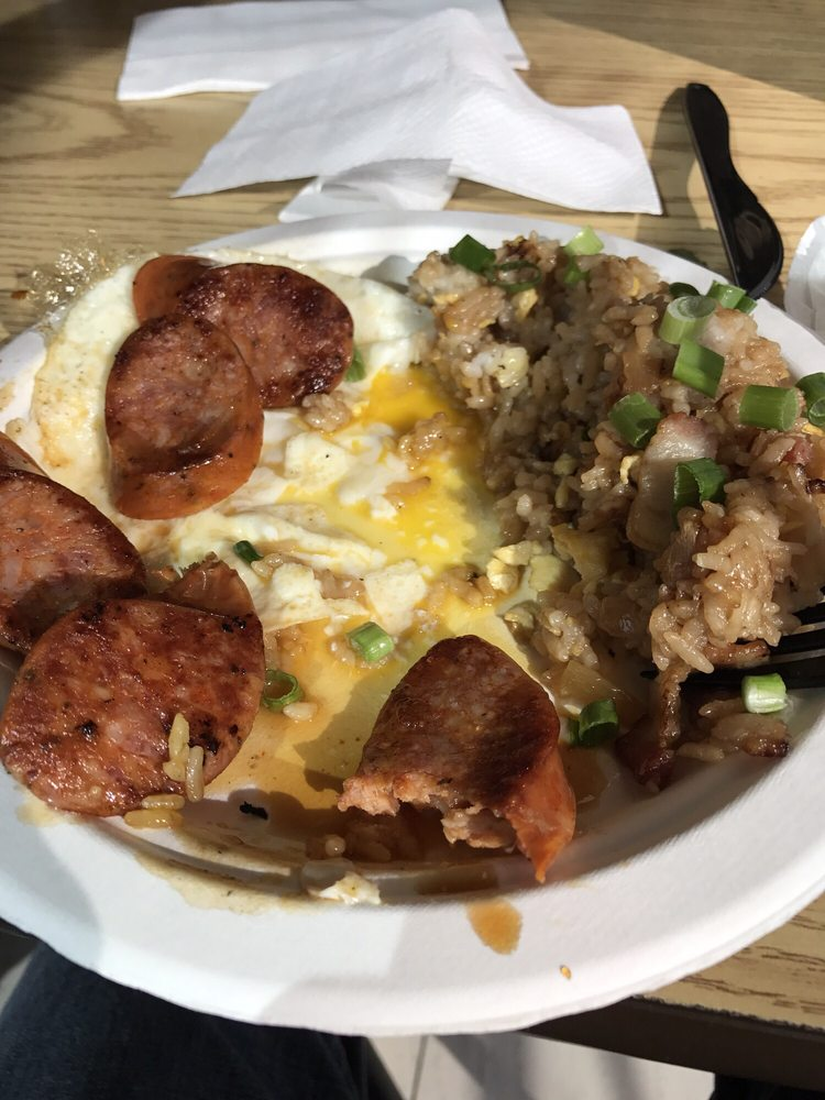 fried rice egg  Portuguese sausage  Yelp