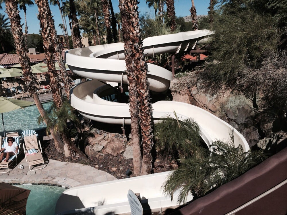 Water Pointe Squaw Resort Hilton Peak Slide
