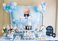Boss baby theme 1st birthday!! Bani did a great job! Will ...