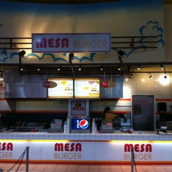 Mesa Burger  Burgers  5000 S Arizona Mills Cir Tempe
