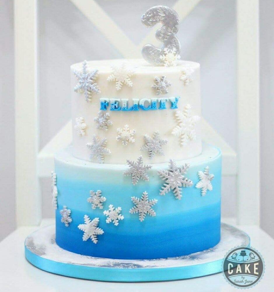 Frozen Elsa Inspired Birthday Cake Yelp