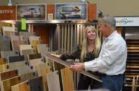 Large selections of hardwood and laminate flooring ...