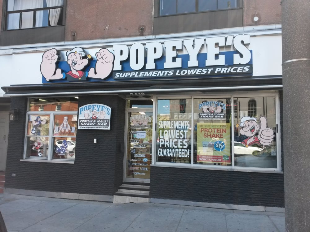 Popeyes Supplements Near Me