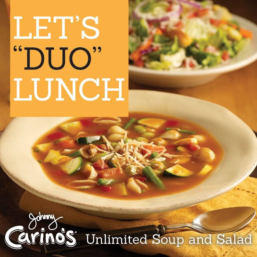 Lunch Menu Johnny Carinos