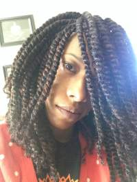 Fluffy twists with Nafy collection Afro puffy twist ...