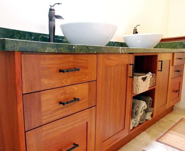 Pinkadu Wood Shaker Style Vanity - Yelp
