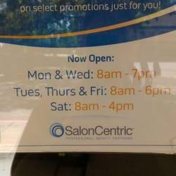 Salon Centric  Cosmetics  Beauty Supply  2962 Treat Blvd Concord CA  Phone Number  Yelp