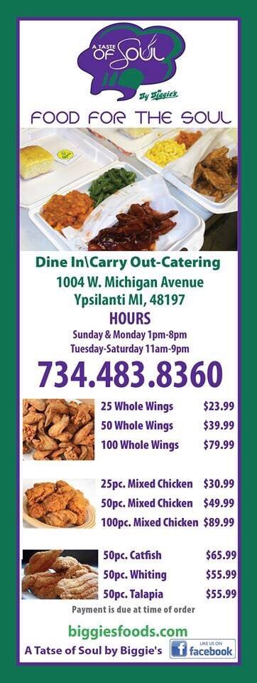 Soul Food Restaurants Ypsilanti Mi