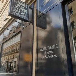 photo de change de la bourse paris france