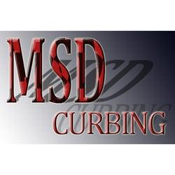 msd curbing - 16 landscaping