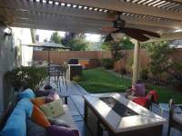 Backyard Paradise- Patio Cover, BBQ Island, Custom Fence ...