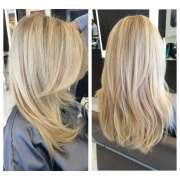 blonde balayage hair color matt