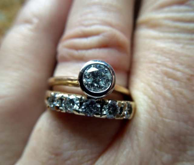 Photo Of The Jewelry Exchange Sudbury Ma United States Both Rings Came