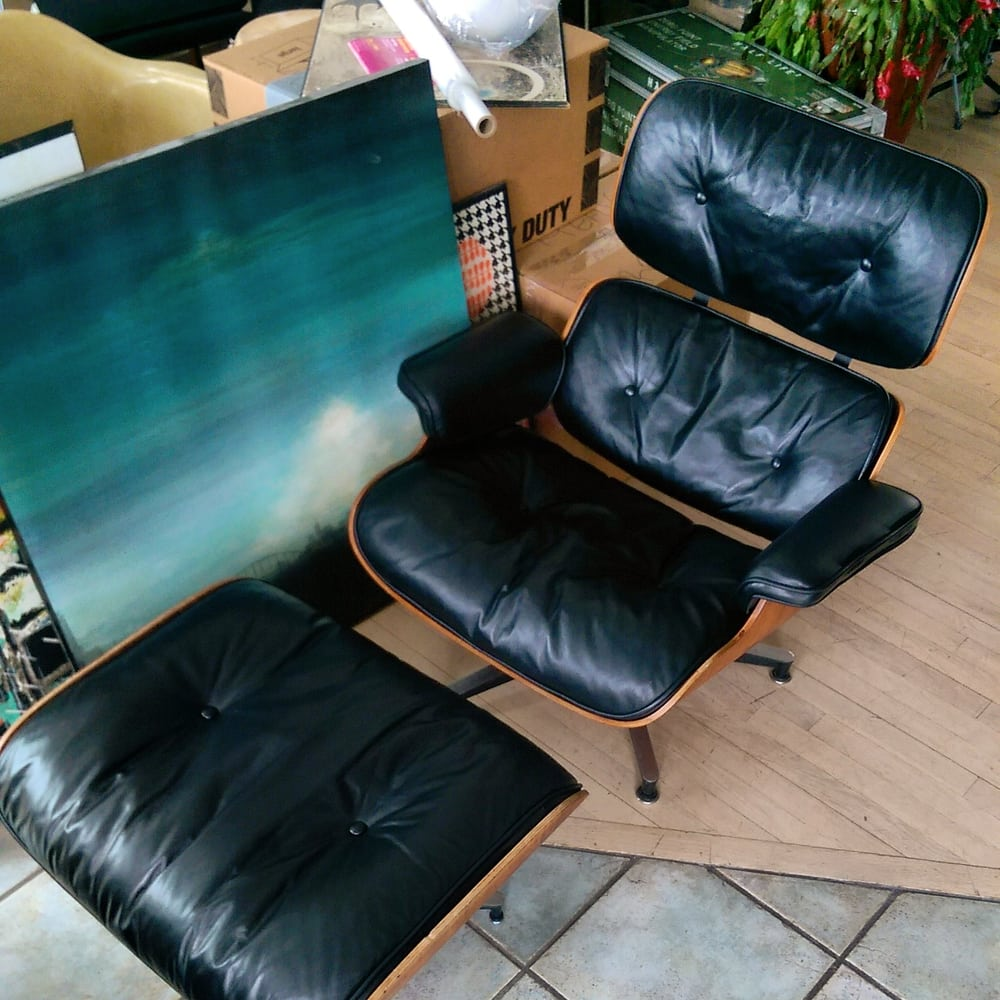 Eames Chair Repair 1960 Herman Miller Eames Lounge Leather Repaired By Hubleather