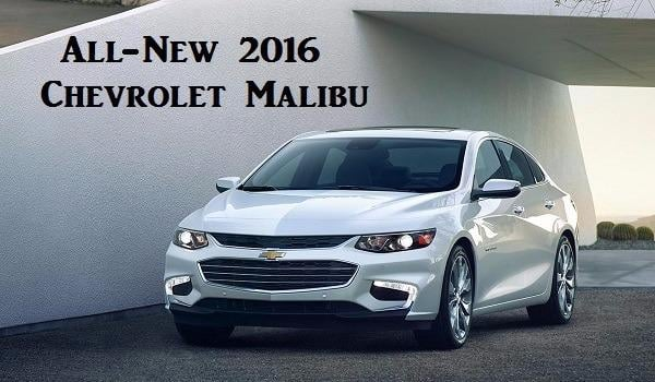 All New 2016 Chevrolet Malibu For Sale In Hagerstown, Md
