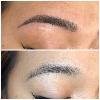 Photo Of V Beauty San Jose Ca United States My Eyebrows Before