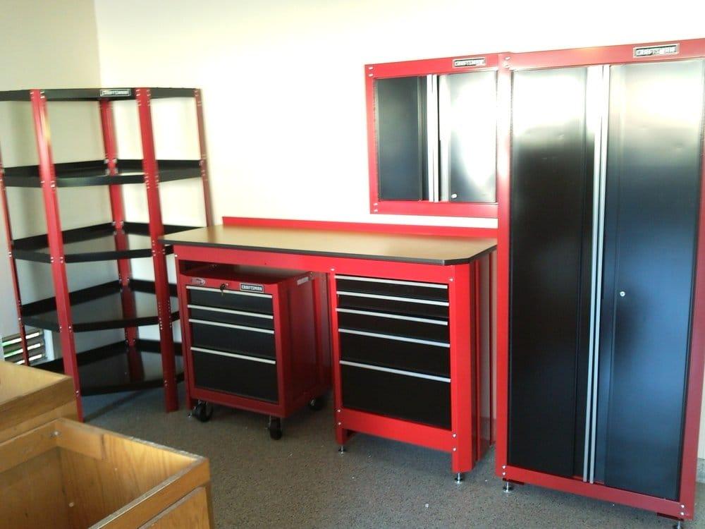 Sears Craftsman Garage Set Up  Yelp