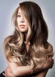 smoked ash ombre asian hair