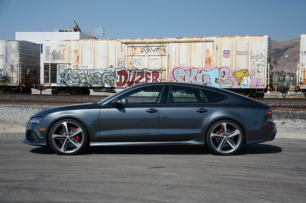 audi rs7 with stage