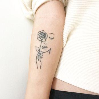 hidden rose tattoo new