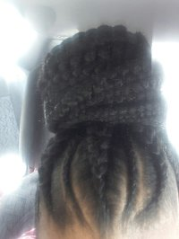 Updo braids - Yelp