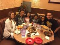 Dinner with the fam!