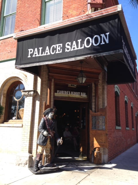 Palace Saloon - Fernandina Beach, FL, United States. The Palace Saloon entrance