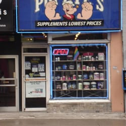 Popeyes Supplements  Health Food Store  ChurchWellesley Village  Toronto ON  Yelp