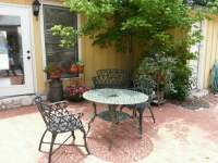 Outdoor patio from the Sun Room. - Yelp
