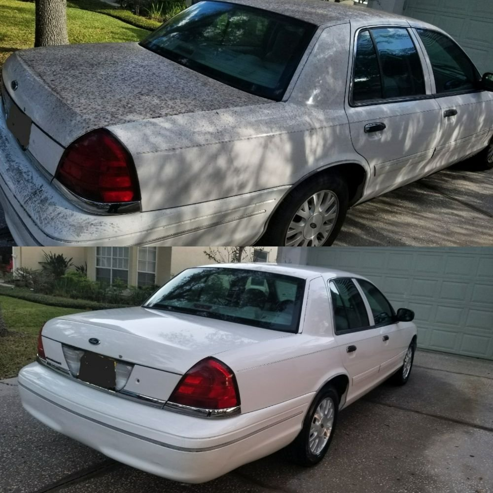 hight resolution of photo of gsd mobile auto detailing tampa fl united states crown vic