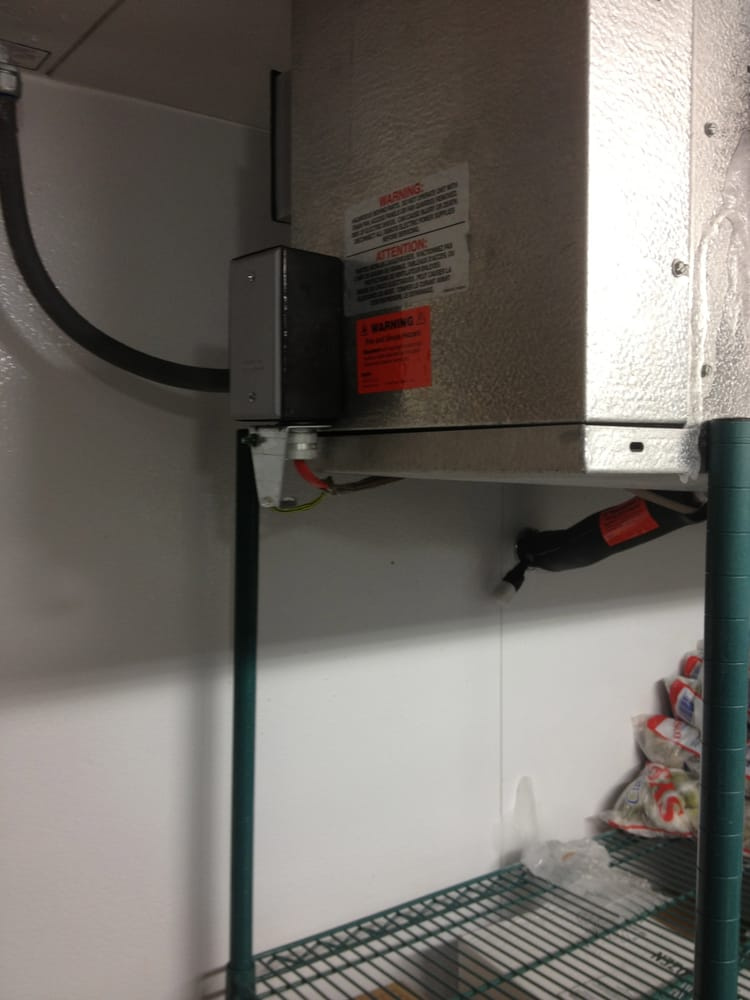 how to read a wiring diagram bobcat 843 parts walk in freezer, drain line heater install. - yelp