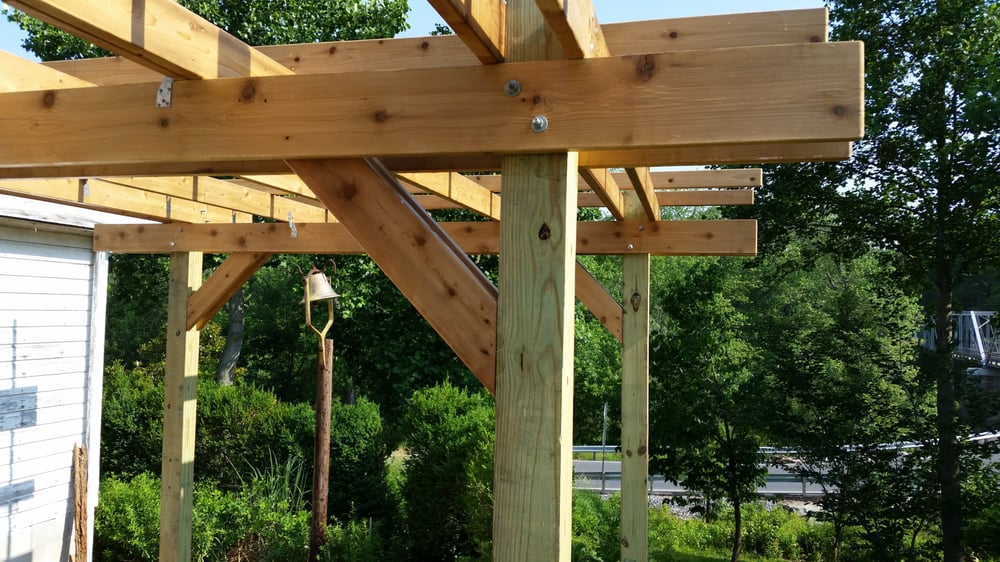Cedar Vs Pressure Treated Pergola