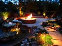 Outdoor Fire Pits and Water Feature | Yelp