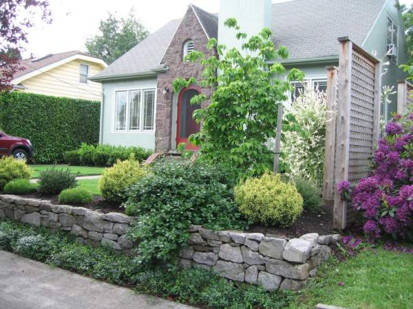 gave home curb appeal