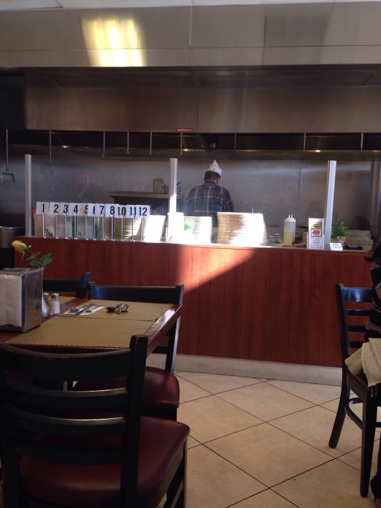 Food prep area open and visible  Yelp